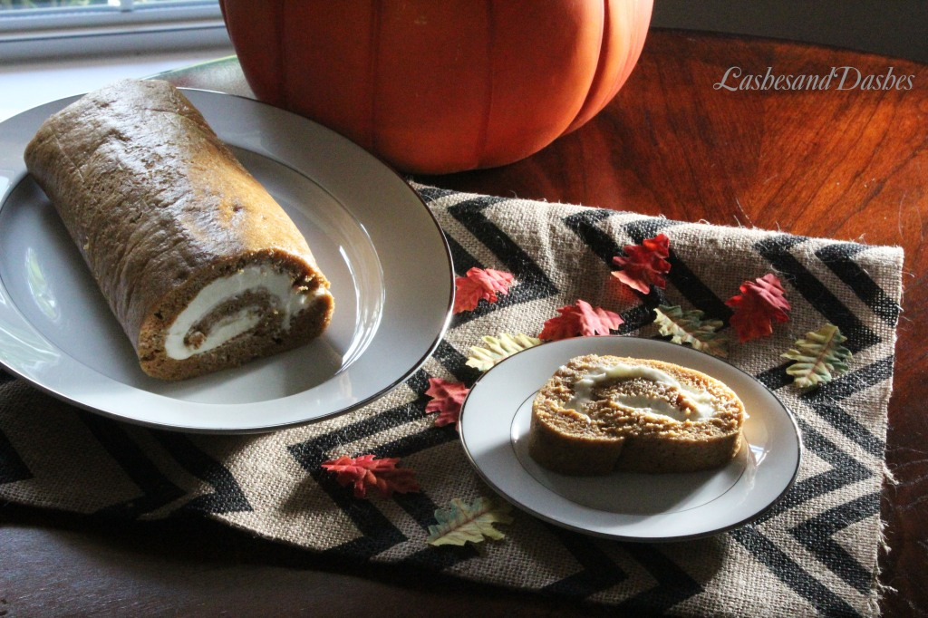 Pumpkin Roll via LashesandDashes