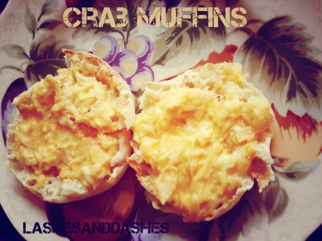Crab Muffin via LashesandDashes