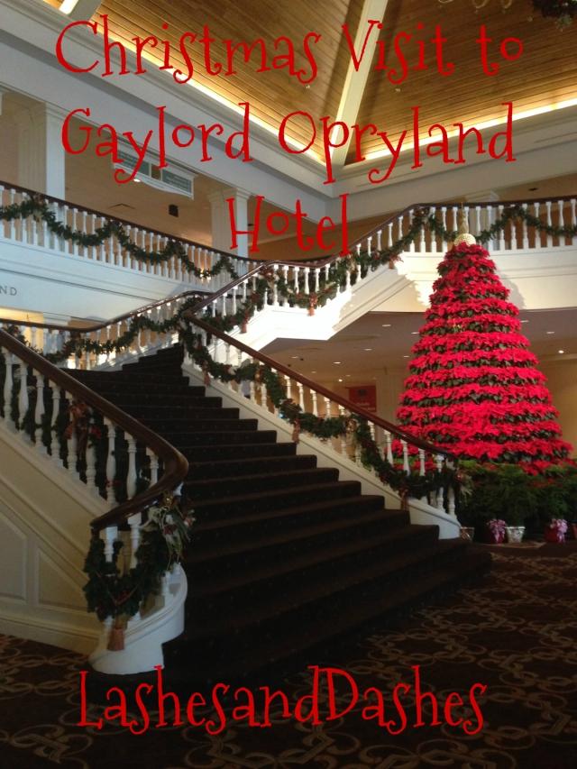 Gaylord Opryland Hotel via LashesandDashes