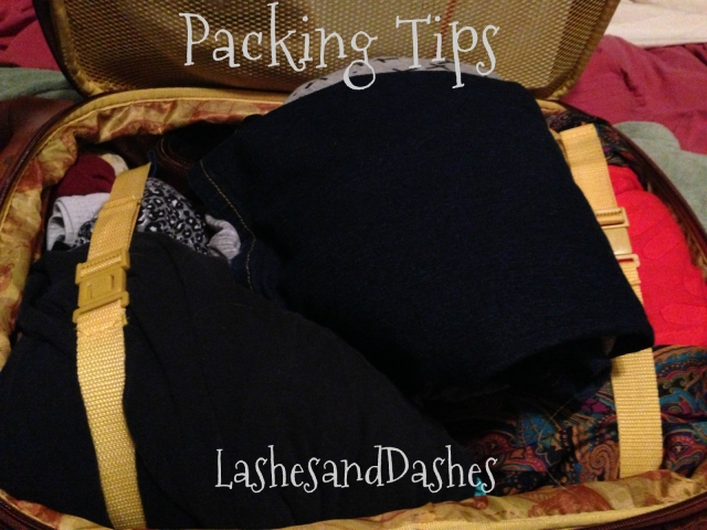 Packing Tips via LashesandDashes