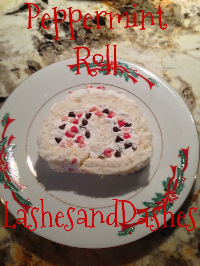 Peppermint Roll via LashesandDashes