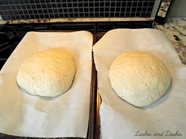 Homemade Bread via LashesandDashes