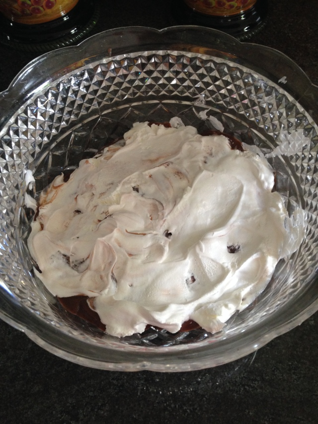 Dads Brownie Trifle via LashesandDashes
